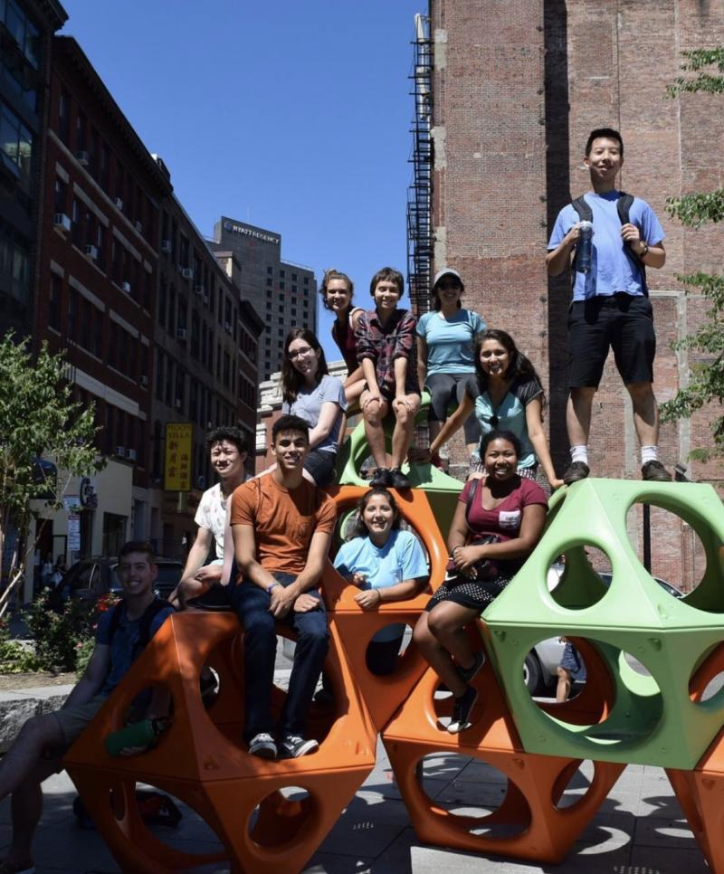 students who took part in Harvard's First-Year Urban Program