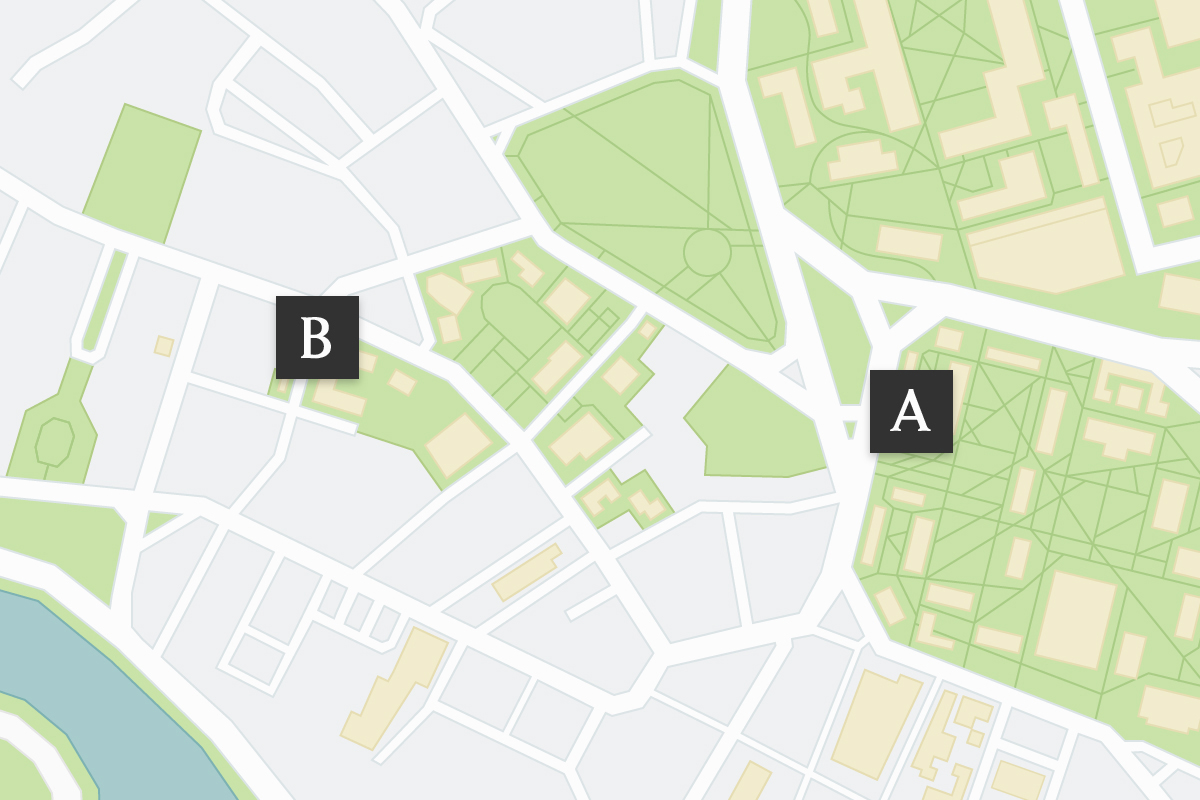 Harvard Campus Map