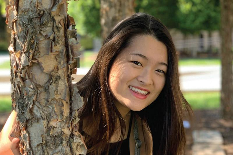 Growing up in Missouri, Julie Riew '21 says she didn't see people who looked like her onstage