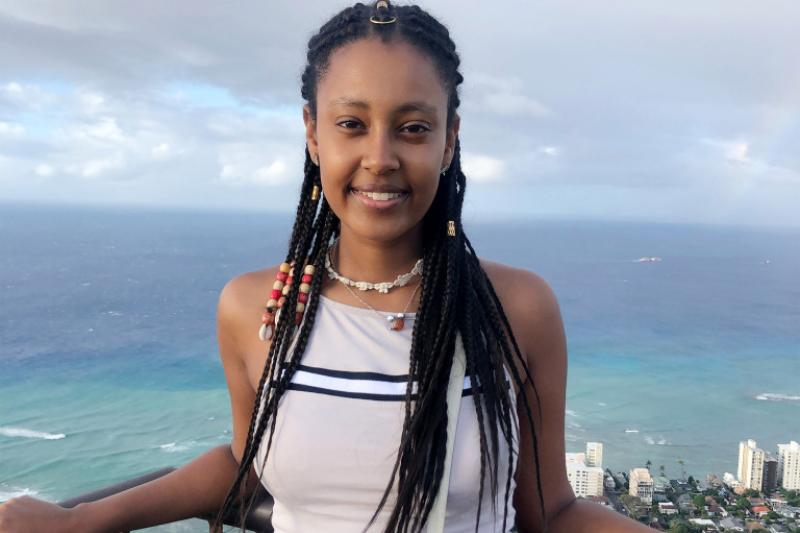 In fall 2021, Mahlet Shiferaw '20 will pursue a Ph.D. in physics at Stanford.