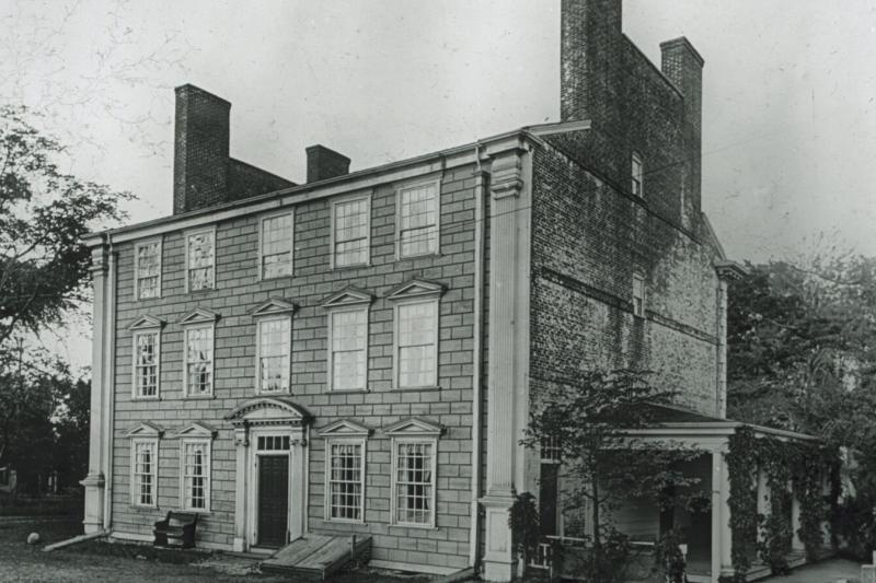 In the 18th century, the Royall House was home to the largest slaveholding family in Massachusetts. It was a bequest from Isaac Royall Jr. that funded the establishment of Harvard Law School in 1817. In 2016, the Harvard Corporation approved the removal of the Law School's shield, which was derived directly from the Royall coat of arms.