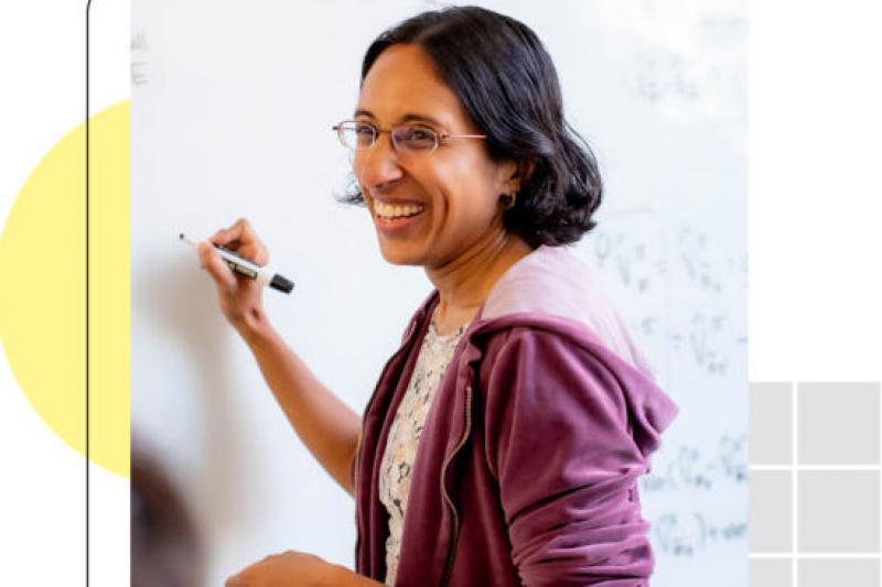 Portrait of Finale Doshi-Velez, John L. Loeb Associate Professor of Engineering and Applied Sciences at the Harvard John A. Paulson School of Engineering and Applied Sciences.