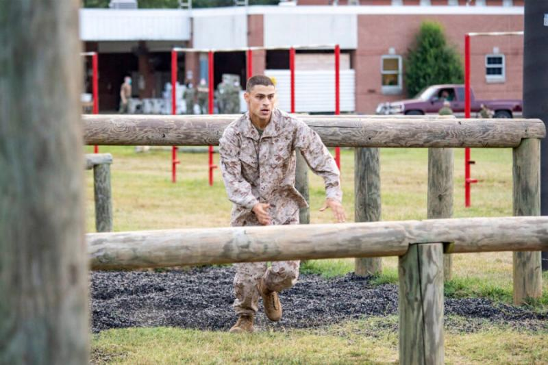 "It started with a class paper on the Civil War. ""... it got me thinking about what I wanted to do to serve,"" said Philip Geanakoplos '21, who enrolled in Officer Candidate School."