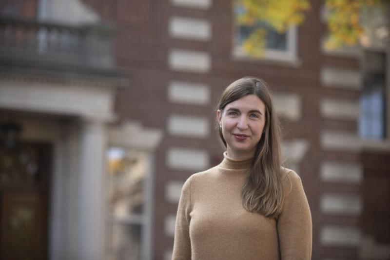 """Assistant Professor Sarah Dimick's lecture course, """"Voices of Environmental Justice,"""" considers the relationship between systems of human injustice and environmental issues."""