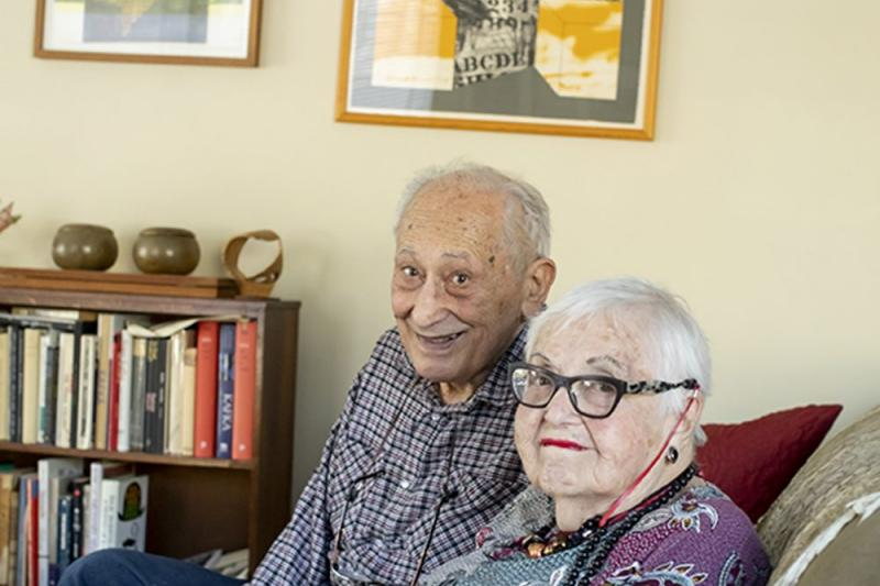 Herman and Judy Chernoff met at Brown University in 1945. They married two years later.