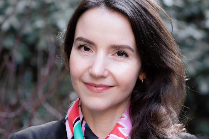 A portrait of Stefanie Stantcheva.