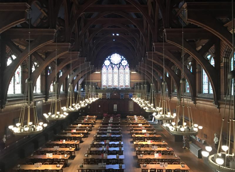 First-year dining hall