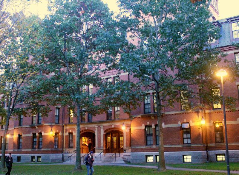 First-year Harvard dormitory, Weld