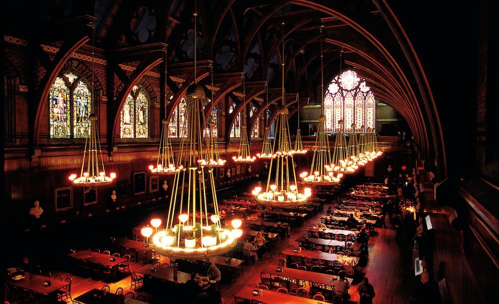 Harvard's Annenberg Dining Hall