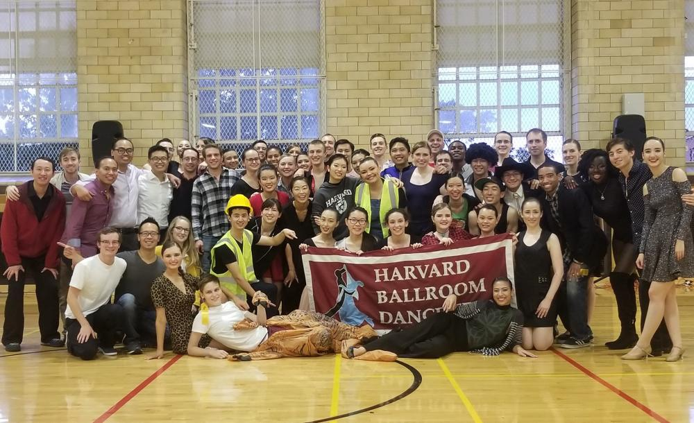 Team photo from Harvard Beginner's