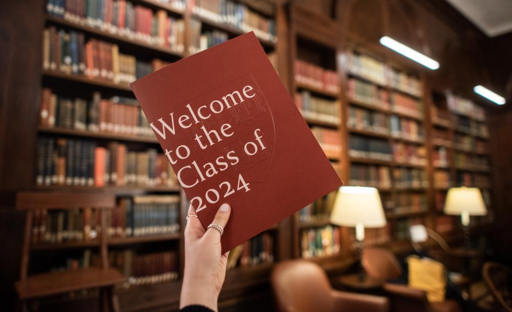 An admitted students pamphlet for the class of 2024