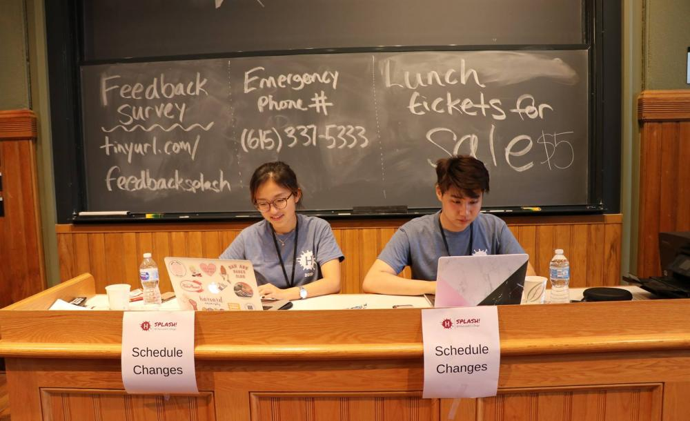 two students at a desk