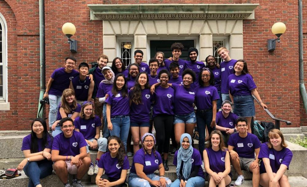 group of Harvard's First-Year Urban Program students