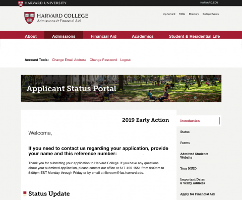 What to Expect After You Apply | Harvard