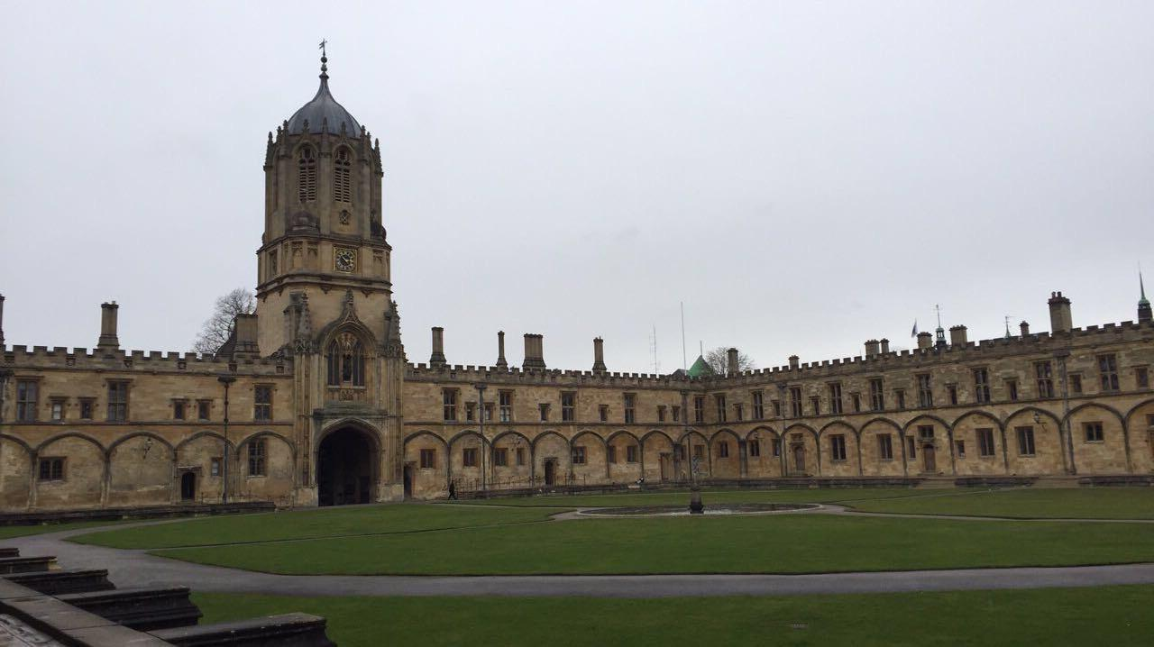 View of Christ Church college buildings