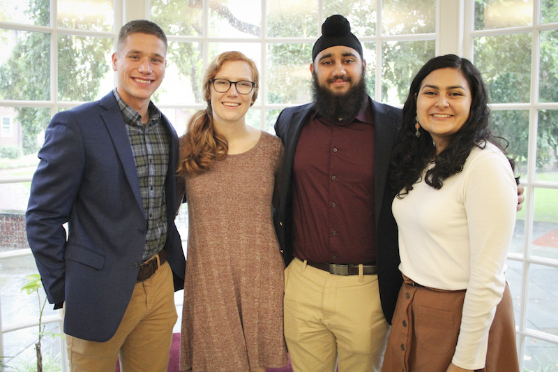 Group of Four Students from the Harvard First Generation Program