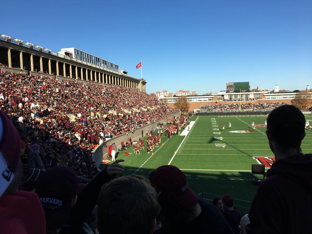 2016 Harvard-Yale football game in the Harvard Stadium