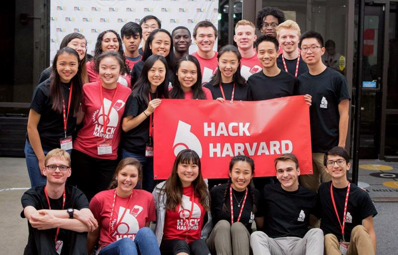 Student organization group Hack Harvard