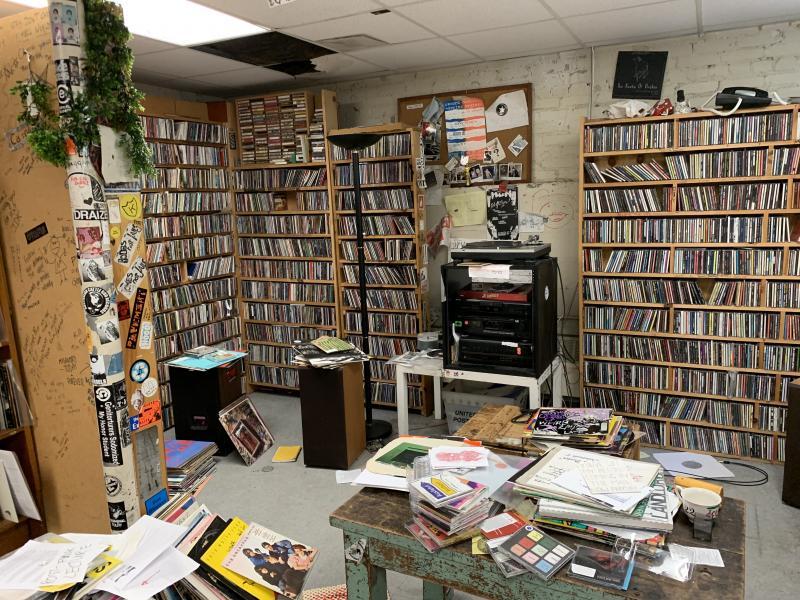 The Record Hospital Lounge at Harvard
