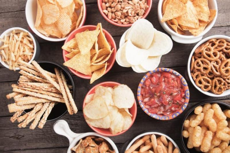 photo of assorted snacks