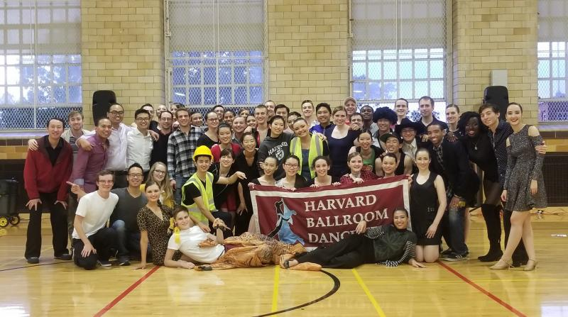 Team photo from Harvard Beginner's