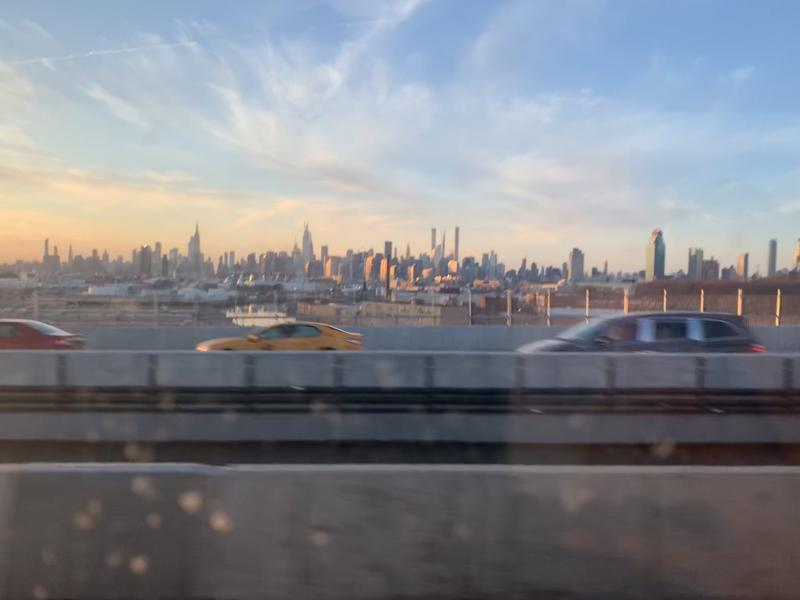 A picture of the New york horizon
