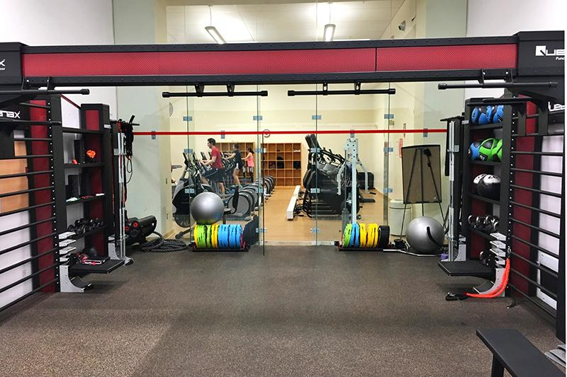 Hemengway Gym.  Functional training space.