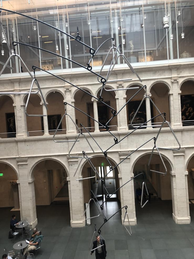 Harvard Arts Museum Lobby