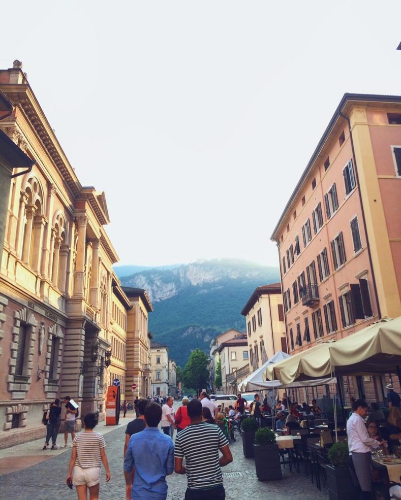 Downtown Trento