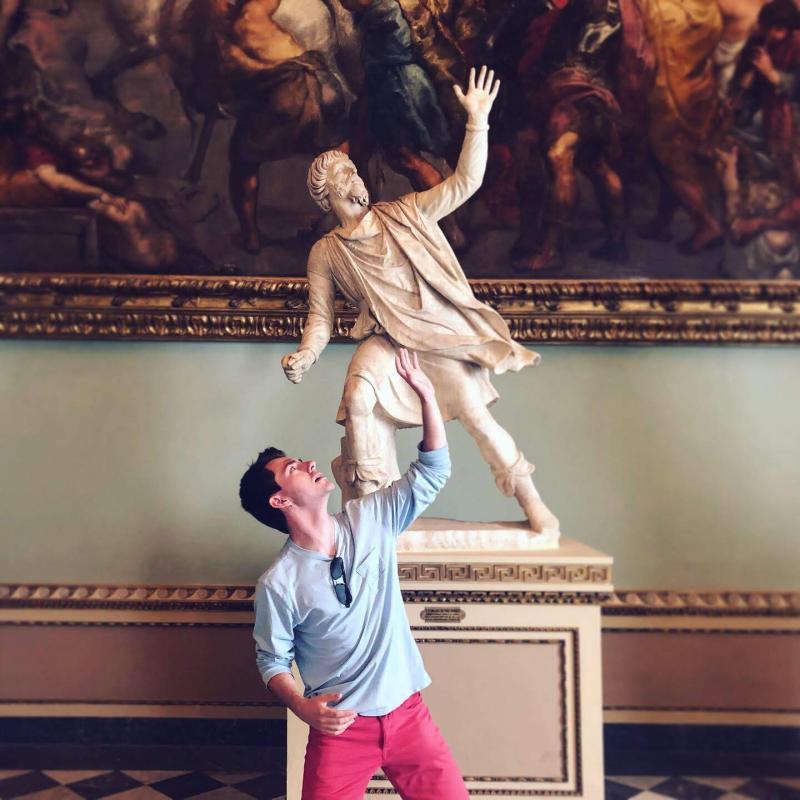 Uffizi Statue