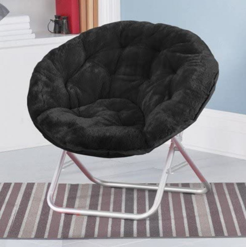 This is a picture of the comfy chair that I ended up purchasing for my dorm room