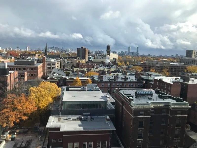 Cityscape of Cambridge
