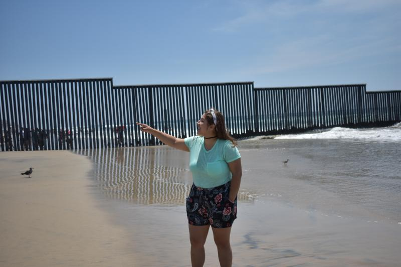 a student at border patrol