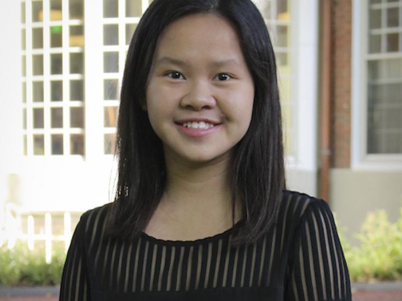 Amy Tan, student