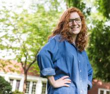 Portrait of Alli Scharmann, student