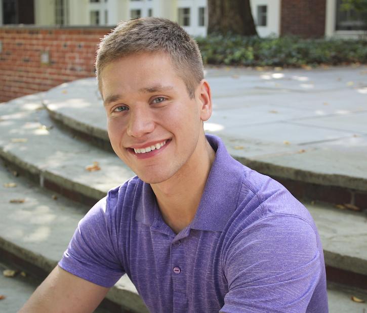 College student, Braeden