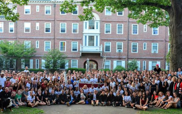 Kirkland House all residents photo during opening days 2018