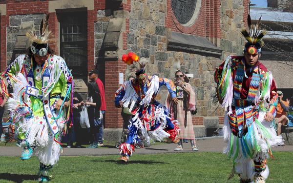 Harvard Powwow Dancers