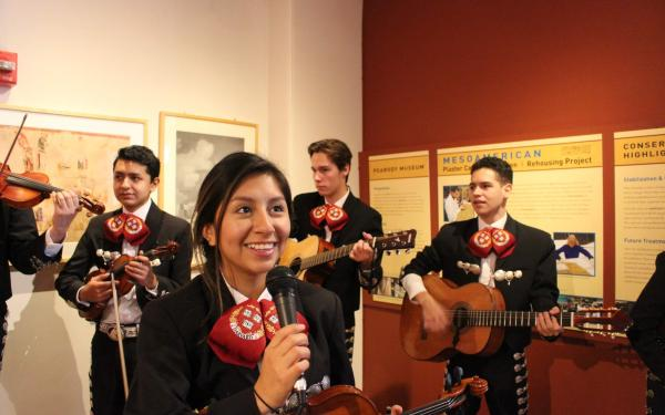 Mariachi performance at Peabody Museum.