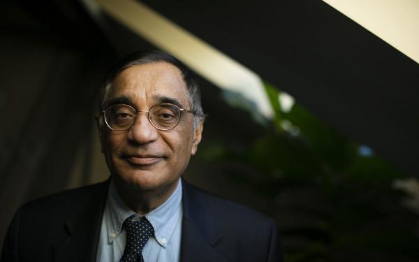 A portrait of Ali Asani.